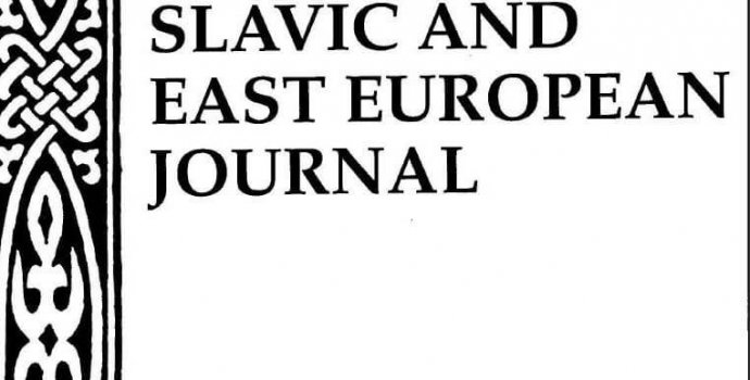 "Review in ""Slavic & East European Journal"" by Timothy"